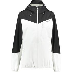 Meru Cromwell Naiset takki , valkoinen/musta